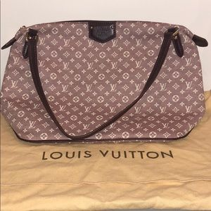 Authentic Louis Vuitton red/pink handbag
